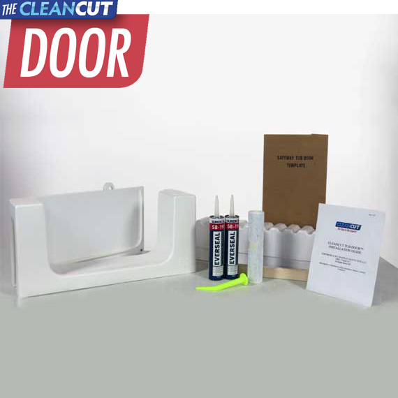 Diy Cleancut Door Walk In Tub Cutout Conversion Kit 645 Cad